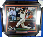 Buster Posey Autographed Signed Framed 16x20 Photo Giants PSA DNA #Z34048