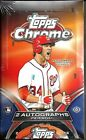 2012 Topps Chrome Factory Sealed Baseball Hobby Box Bryce Harper AUTO ??