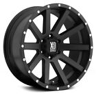 XD Series XD818 HEIST Wheels 18x8 35 5x12065 741 Black Rims Set of 4