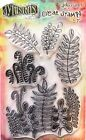 Dylusions Oodles of Foliage Clear Stamp Set by Ranger DYB61991 NEW