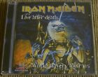 IRON MAIDEN LIVE AFTER DEATH CD SEALED MADE IN BRAZIL 2008 POWERSLAVE ACES HIGH