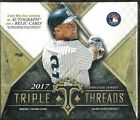 2017 Topps Triple Threads Factory Sealed Baseball Hobby Box Aaron Judge RC ???