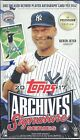 2017 Topps Archives Signature Series Postseason Edition Hobby Box