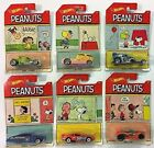 2017 Hot Wheels Peanuts YOUR CHOICE CHOOSE ONE OF THE 6 CARS
