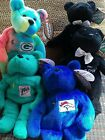 lot 5 Vintage beany babies salvinos bammers Marino McGwire Elway Favre Griffey J