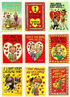 1959 FUNNY VALENTINES COMPLETE BASIC TRADING CARD SET