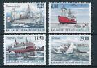 [29306] Greenland 2005 Boats good set of stamps very fine MNH