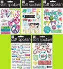 U CHOOSE Me  My Big Ideas MAMBI Soft Spoken FRIENDS Stickers Girls Sisters BFF