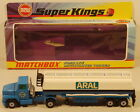 DTE LESNEY MATCHBOX SUPERKINGS SK 16 ARAL FORD LTS ARTICULATATED TANKER TRUCK