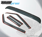 In-Channel Light Grey JDM Sunroof Visor 5pcs For Dodge Charger 2006-2010