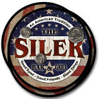 Siler Family Name Drink Coasters - 4pcs - Wine Beer Coffee & Bar Designs