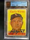 1958 Topps Early Wynn #100 BVG Authentic Autographed JSA HOF Chicago White Sox
