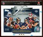 2010 TOPPS PLATINUM FOOTBALL SEALED HOBBY BOX rc auto refractor patch