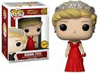 Pop! Royals Diana, Princess of Wales Vinyl Figure #03 [Red Dress, Chase Version]