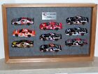 Dale Earnhardt RCR Museum Series 1  2 Display Cases  18 132 Diecast Cars