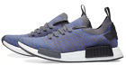 New adidas NMD R1 Primeknit Mens sneaker blue black coral all sizes