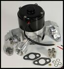 SBC CHEVY ELITE ULTRA FLOW ELECTRIC WATER PUMP POLISHED  E 5926 P