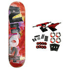 Almost Skateboard Complete Color Bleed Red 825