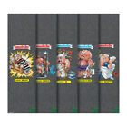 Mob Skateboard Griptape Garbage Pail Kids Black 5 Pack 9 x 33 Grip Tape Sheets