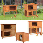 36 40 48 Wooden Small Animal House House Rabbit Hutch Chicken Coop Dog House