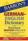 Barron s German-English Dictionary: Worterbuch Deut... | Buch | Zustand sehr gut