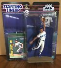 1999 Jose Cruz Jr. Toronto Blue Jays Starting Lineup mint in pkg with BB card