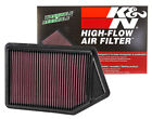 K&N 33-2498 Replacement Air Filter 2013-2017 Honda Accord 2.4L 15-19 TLX 2.4L