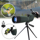 25 75x70 Waterproof Zoom BAK4 Monocular Telescope with Tripod Phone Holder