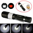 15000LM USB 3Modes T6 Led Zoomable Flahslight Torch 2 in 1 Camping Lantern Light