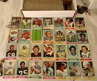 Big Lot Of 453 Different 1974 Topps Football Cards Vintage Partial Set Stars