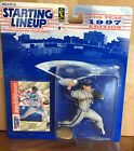 1997 Jason Isringhausen New York Mets Rookie Starting Lineup in pkg with BB Card