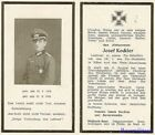 Death Notice: Decorated Wehrmacht Pionier Luetnant KIA in CHARKOW, Russia 1943!