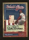2004 Timeless Treasures Bob Gibson Game Used World Series Ball Patch AUTO 6 7