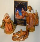 Fontanini by Roman Classic Holy Family Nativity Set 3 Piece 5 Inch Each