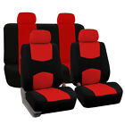 Car Suv Seat Covers Universal For Auto Fabric 9 Pcs Full Set Cushion 4-color