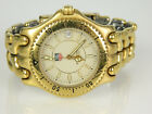 Men's Tag Heuer Link Sel Gold Watch - Sapphire Crystal - White Dial - WG1130