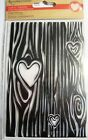 Heart Carved in Tree Background Clear Acrylic Stamp by Recollections 384213 NEW