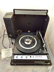Concert Hall Super 8 Track Wildcat Portable Record Changer Player BSR Turntable