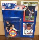 1993 Greg Maddux Atlanta Braves Extended Starting Lineup in pkg w/ 2 BB Cards