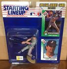 1993 Larry Walker Montreal Expos Rookie Starting Lineup in pkg w/ 2 BB Cards