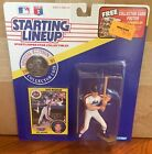 1991 Dave Magadan New York Mets Rookie Starting Lineup in pkg w/ BB Card