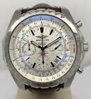 Breitling Bentley Motors T Automatic Chronograph Silver Dial Steel A25363