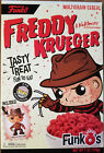 FunkO's Cereal FREDDY KRUEGER EXCLUSIVE CEREAL w Mini Pop! Sealed