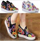 Hot Sale Womens Shoes Breathable Mesh F Sneakers Wedge Hidden Sport Sandals Boot