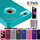 Heavy Duty Shock Proof Defender iPhone SE 5S 5 Case Cover with Screen Protector