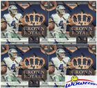 (4)2016 Panini Crown Royale Football Factory Sealed Retail Box-8 AUTOGRAPH MEM !