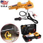 2 Ton Automotive Electric Scissor Car Jack Lifting Impact Wrench Tools Kit 12V