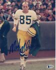 Max McGee #2 Signed 8x10 Photo Beckett Certified Green Bay Packers 082618