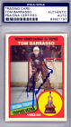 Tom Barrasso Autographed 1984-85 O-Pee-Chee Rookie Card Sabres PSA DNA 83921197