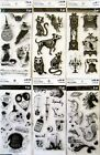 Halloween Stamp Sets by Recollections Your Choice of Vintage Bones Mad Science